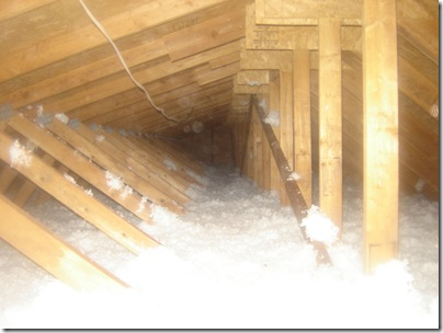 Insulating The Attic Home Hinges Home Improvement